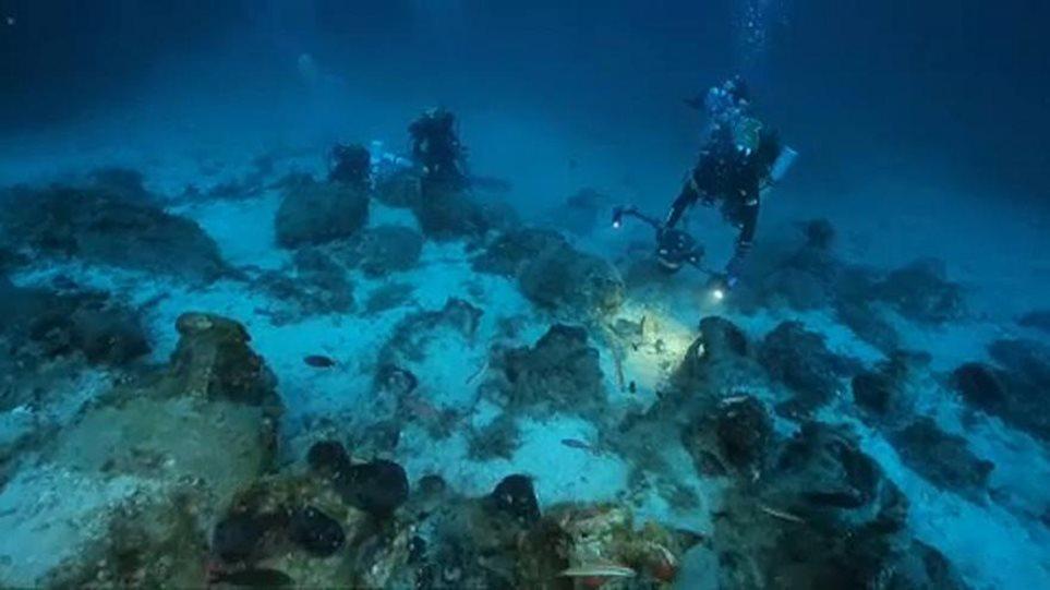 Αρχαίο ναυάγιο εντοπίστηκε κοντά στο νησί Μόλατ