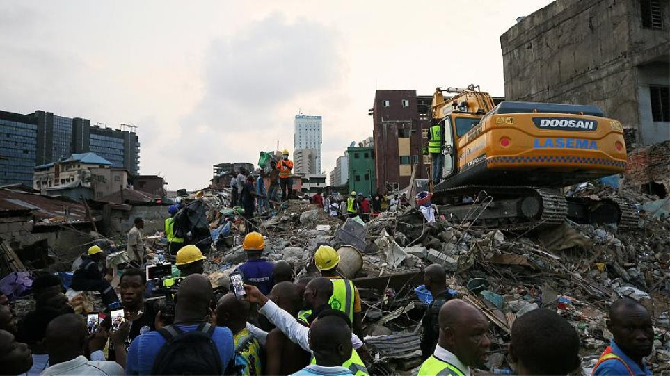 Νιγηρία: Στους είκοσι οι νεκροί από την κατάρρευση κτιρίου στο Λάγος