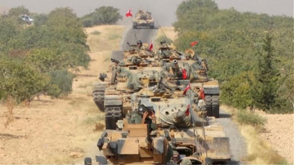 Ενισχύσεις στα σύνορα με τη Συρία στέλνει η Άγκυρα